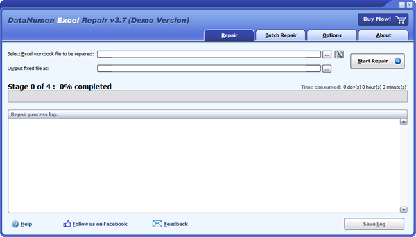 repair and recover corrupt Excel files