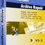 DataNumen Archive Repair பாக்ஸ்ஷாட்