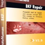 DataNumen BKF Repair ബോക്ഷോട്ട്