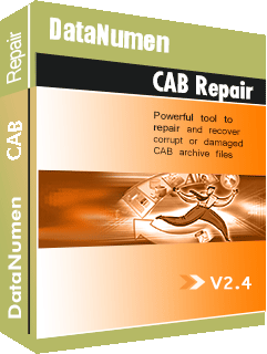 DataNumen CAB Repair Kutia e kutisë