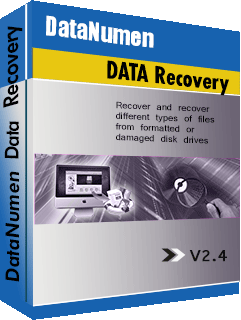 DataNumen Data Recovery בוקסשוט