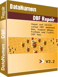 DataNumen DBF Repair 2.1 Business License for Commercial