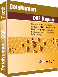 DataNumen DBF Repair बक्सशट