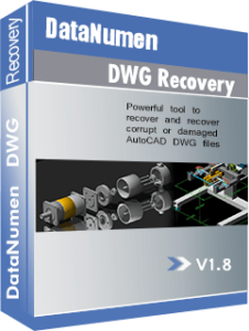 DataNumen DWG Recovery 박스 샷