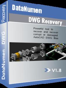 DataNumen DWG Recovery Qutusu