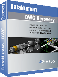 DataNumen DWG Recovery Igbe mbata