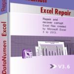 DataNumen Excel Repair బాక్స్ షాట్