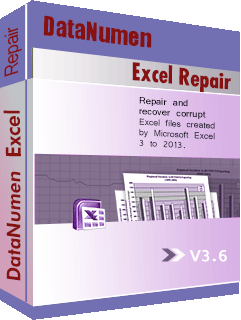 DataNumen Excel Repair Boksskiet