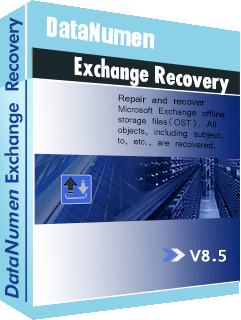DataNumen Exchange Recovery বক্সশট
