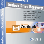 DataNumen Outlook Drive Recovery 박스 샷