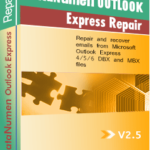 DataNumen Outlook Express Repair Боксхот
