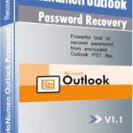 DataNumen Outlook Password Recovery Boxshot