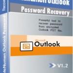 DataNumen Outlook Password Recovery Ibhokisi