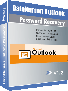DataNumen Outlook Password Recovery جعبه عکس