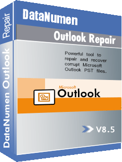 DataNumen Outlook Repair באָקסשאָט