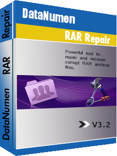 DataNumen RAR Repair બshotક્સશ .ટ
