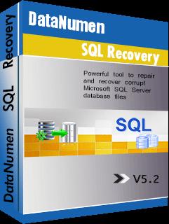DataNumen SQL Recovery Boxshot