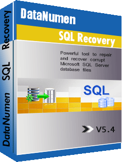 DataNumen SQL Recovery باڪس شوٽ