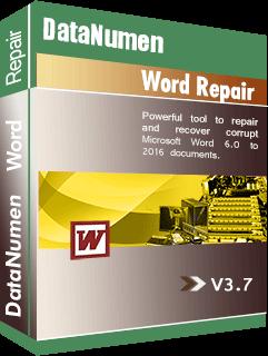 DataNumen Word Repair ប្រអប់សំបុត្រ