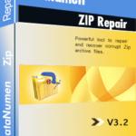 DataNumen Zip Repair 박스 샷