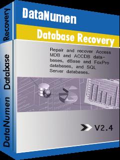 DataNumen Database Recovery Boxshot