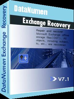 DataNumen Exchange Recovery Boxshot