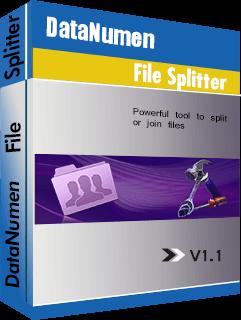DataNumen File Splitter Boxshot