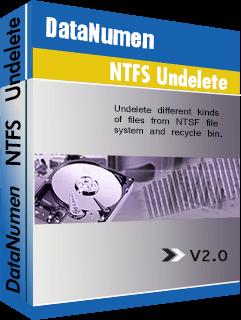 DataNumen NTFS Undelete বক্সশট