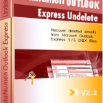 DataNumen Outlook Express Undelete boxshot