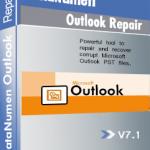 DataNumen Outlook Repair Boxshot