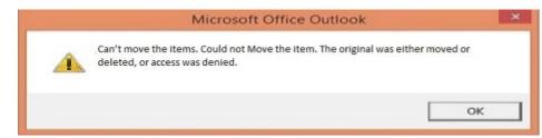Tidak dapat memindahkan item. Tidak bisa memindahkan item. Yang asli dipindahkan atau dihapus, atau akses ditolak.